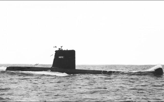 Arhiivifoto Prantsuse allveelaevast La Minerve.