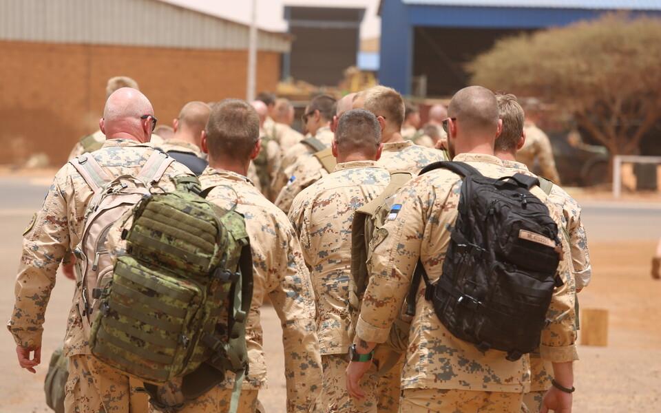 Эстонские военнослужащие в Мали.