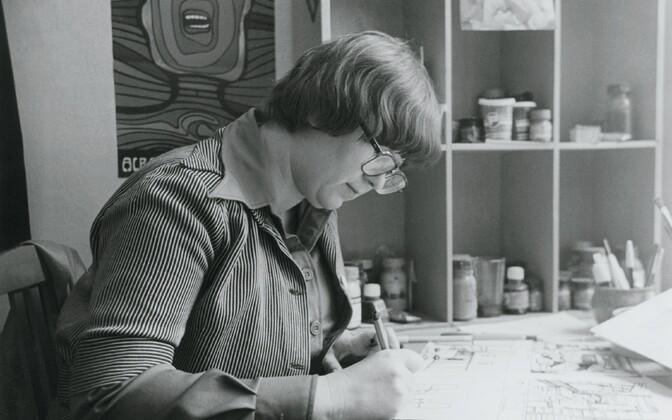 Eesti Televisiooni kunstnik. 1980ndad