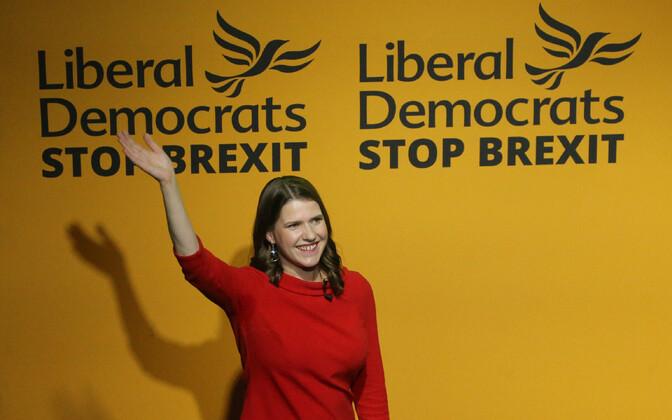 Briti liberaaldemokraatide juht Jo Swinson.