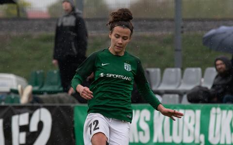 FC Flora naiskonna ründaja Mari Liis Lillemäe