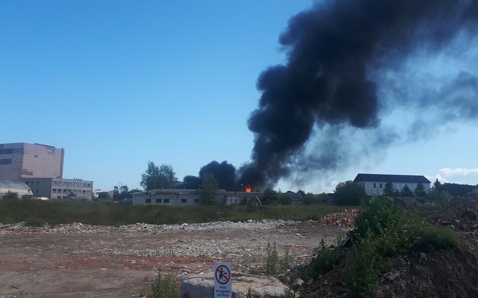 Пожар в Маарду.