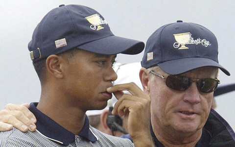 Tiger Woods ja Jack Nicklaus 2003. aastal