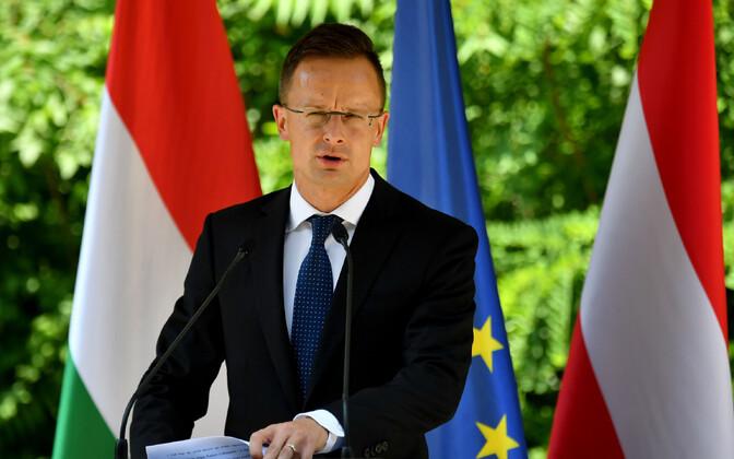 Ungari välisminister Peter Szijjarto koondab rändevaldkonnas samameelseid riike.