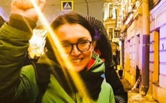 Vene inimõigusaktivist Jelena Grigorjeva.