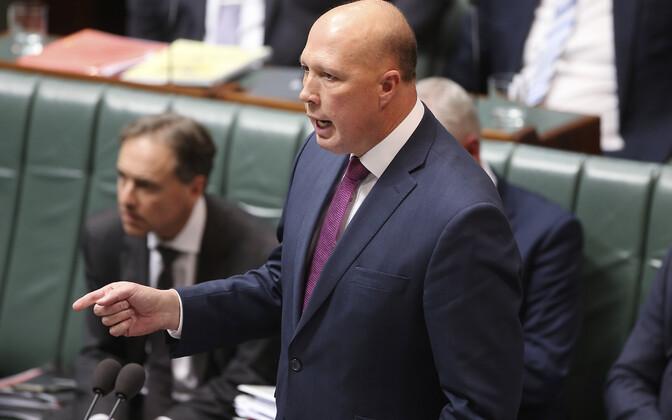 Austraalia siseminister Peter Dutton.