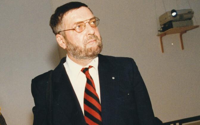 Claes Andersson 1990. aastatel Eestis.