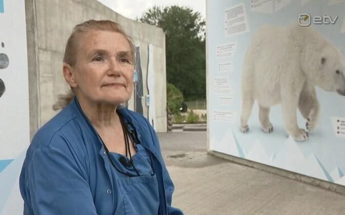 Анне Салунеэм работает в зоопарке с 13 лет.
