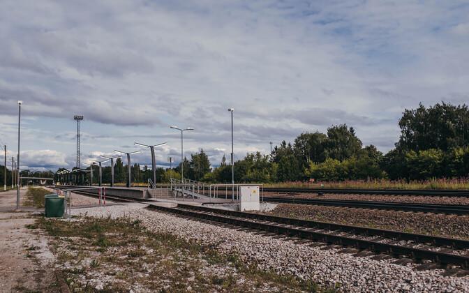 Jõhvi raudteejaam.