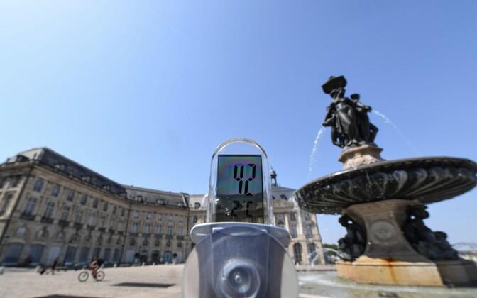 Termomeetrinäit Prantsusmaalt