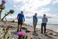 Prime Minister Jüri Ratas (Centre) visited several Western Estonian islands this week. July 2019.