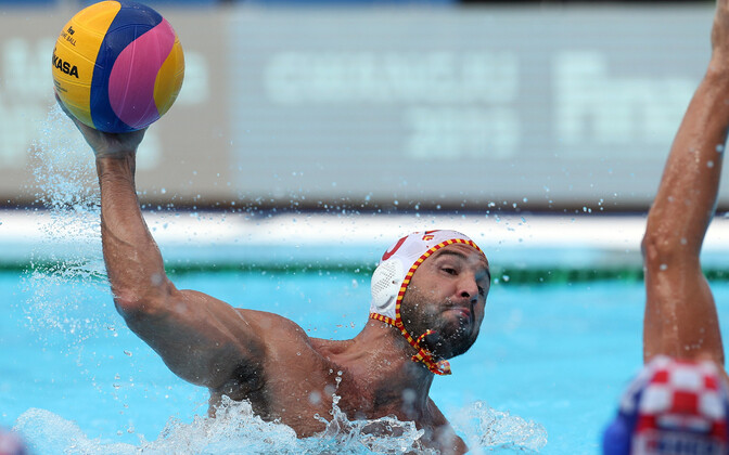 Hispaania - Horvaatia veepalli MM-poolfinaalis