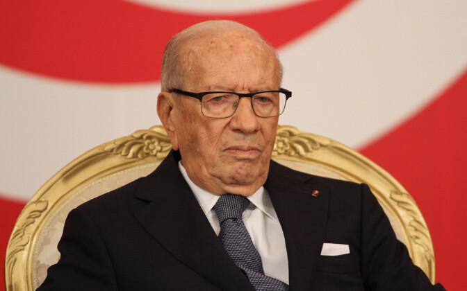 Президент Туниса Бежи Каид ас-Себси.