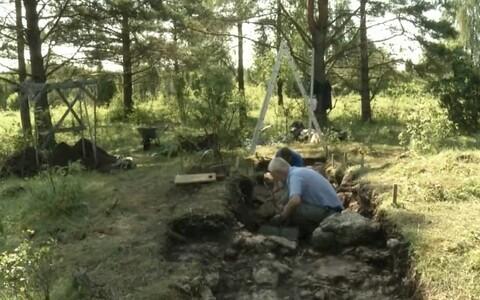 Kurese arheoloogilised kaevamised.