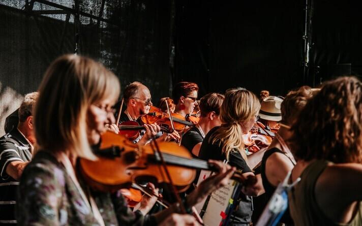 Фестиваль фолк-музыки в Вильянди, 2019 год.