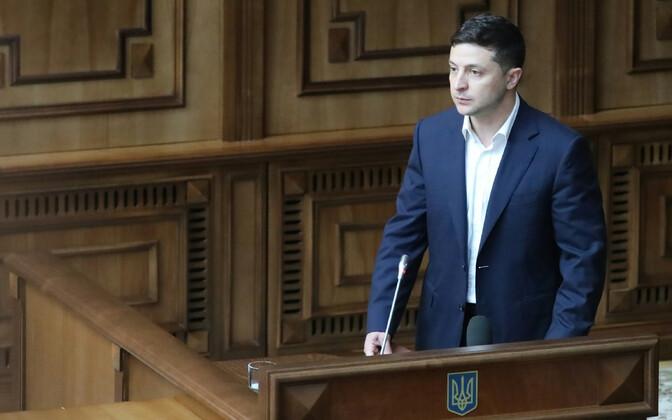 Ukraina president Volodõmõr Zelenski.