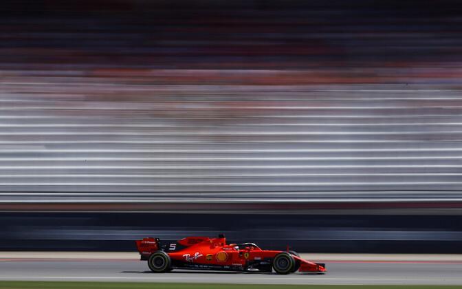 Sebastian Vettel Saksamaa GP-l