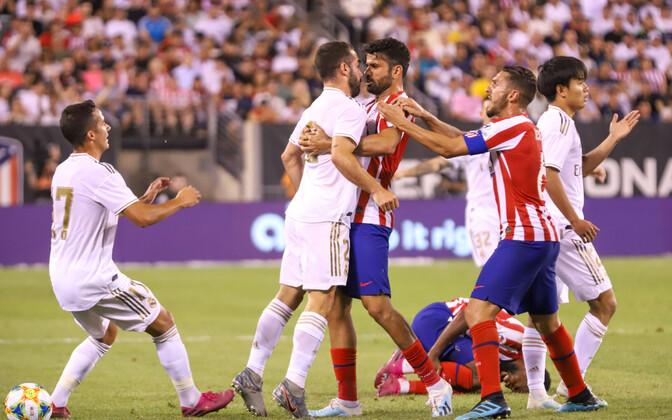 Atletico ja Real pidasid USA-s põneva sõpruskohtumise