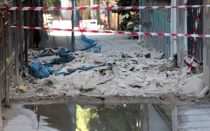 19. juulil Ateenat raputanud maavärina tagajärjed.
