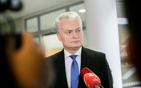Lithuanian president Gitanas Nausėda.