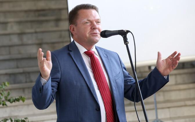 Läti Raudtee juht Edvins Berzinš.