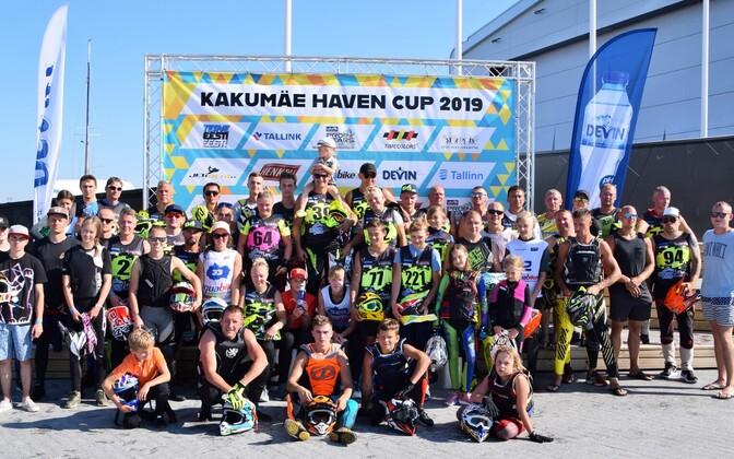 Haven Kakumäe Cupi võistlejad.