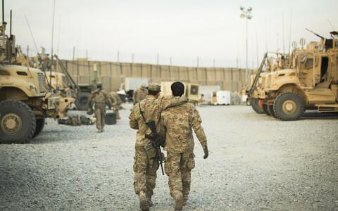 Военнослужащие США в Афганистане.