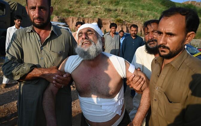 Rawalpindi lennuõnnetuses vigastatu.