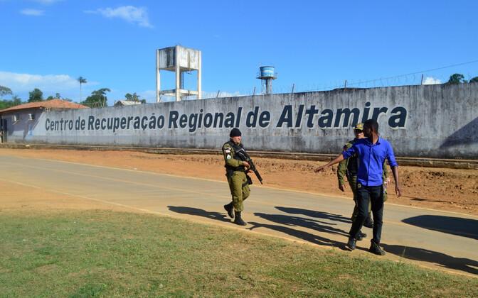 Altamira vangla Brasiilias.