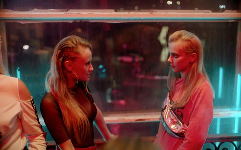 Jane (Alice Siil) ja tema sõbranna Kate (Amanda Hermiine Künnapas).