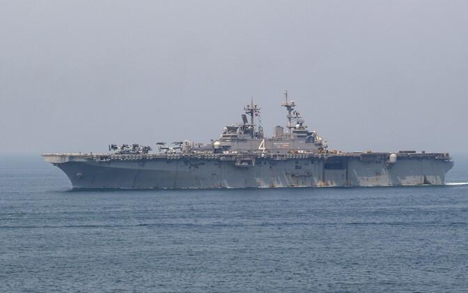 USA mereväe laev USS Boxer Pärsia lahes.