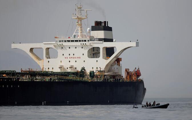 Iraani supertanker Grace 1.