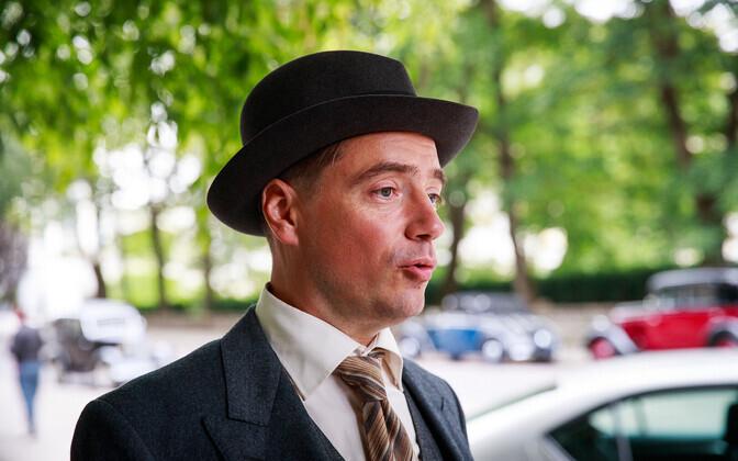 Съемки эстонского шпионского фильма