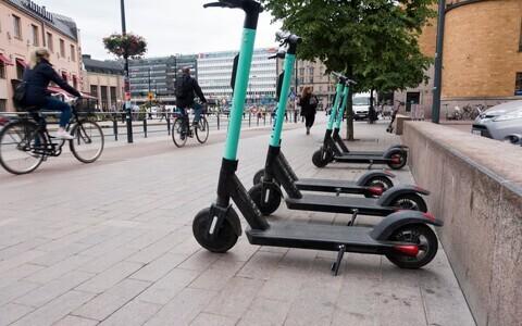 Электросамокаты в Хельсинки.
