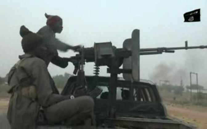 Boko Harami võitlejad.