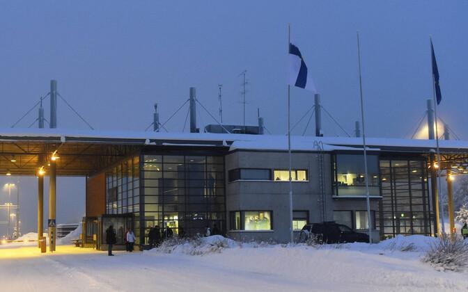 Salla piiripunkt Soome-Vene piiril.