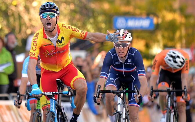 Grupisõidu valitsev maailmameister, hispaanlane Alejandro Valverde.