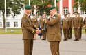 2. jalaväebrigaadi tagalapataljoni ülema vahetustseremoonia.
