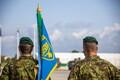Scoutspataljoni ülema vahetus Tapal.