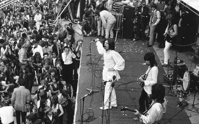 The Rolling Stones 1969. aastal Woodstockis