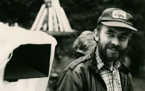 Režissöör ja operaator Ago Ruus.