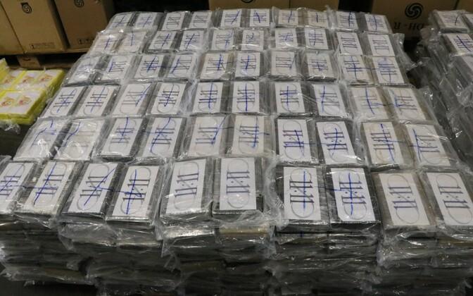 Hamburgi toll konfiskeeris 4,5 tonni kokaiini.