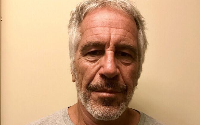 Foto Jeffrey Epsteinist pärast seda, kui ta juulis New Yorgis vahi alla võeti.