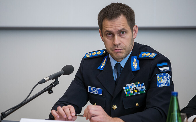 Police and Border Guard Board (PPA) Director General Elmar Vaher (pictured) says cuts are coming to his organization; Martin Helme, deputizing for his interior minister father, rejects this.