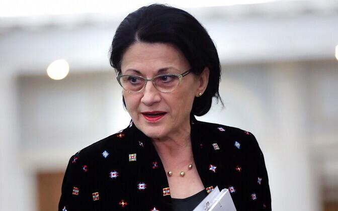 Бывший министр образования Румынии Екатерина Андронеску.