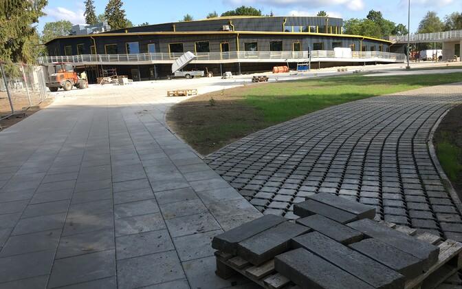 1. septembril alustavad Paide Hillar Hanssoo Põhikooli õpilased õpinguid uues koolimajas.