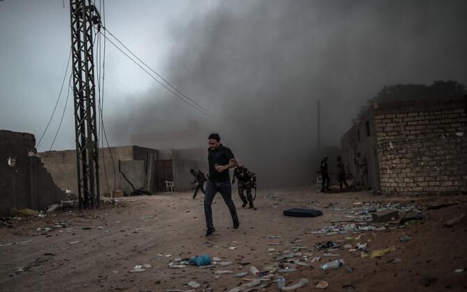 Sõjategevus Liibüas, arhiivifoto.
