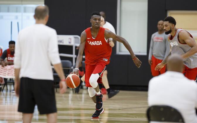Kanada korvpallikoondise treening