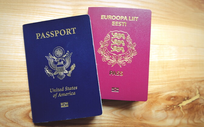 While the U.S. is happy to mail passports, the Estonian authorities think that even handing them to traceable couriers isn't safe enough.