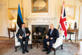 Prime Minister Jüri Ratas met with British Prime Minister Boris Johnson in London on Tuesday. Aug. 6, 2019.